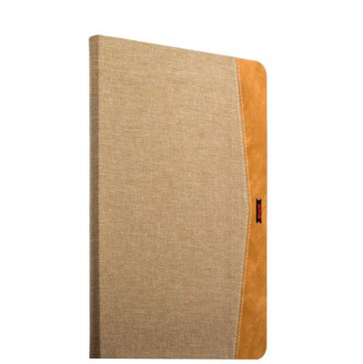 "Чехол тканевый XOOMZ для New iPad 2017г. (9,7"") Simple Fabric Material Made Folio Cover Erudition Series (XID706beige) Бежевый"