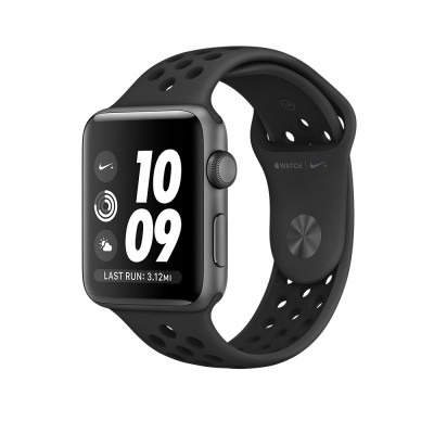 Apple Watch Series 2 Nike+ 42mm Space Gray Aluminum Case with Anthracite/Black Nike Sport Band (MQ182)