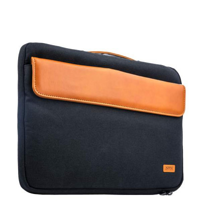 "Кейс для ноутбука до 11"" XOOMZ 320x240x30mm Fabric Portable Laptop Sleeve Case with Handle (XB003) Черный"