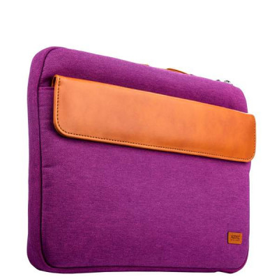 "Кейс для ноутбука до 11"" XOOMZ 320x240x30mm Fabric Portable Laptop Sleeve Case with Handle (XB003) Фиолетовый"