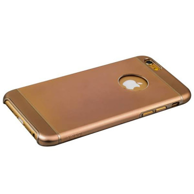 Накладка металлическая iBacks Premium Aluminium case for iPhone 6s/ 6 (4.7) - Essence (ip60019) Gold Золото