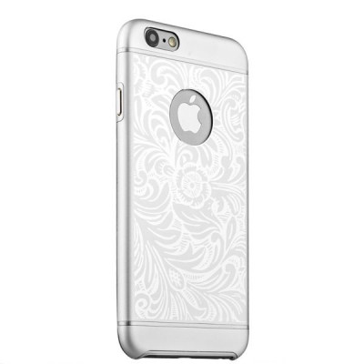 Накладка металлическая iBacks Cameo Series Aluminium Case for iPhone 6s/ 6 (4.7) - Venezia (ip60024) Silver Серебро
