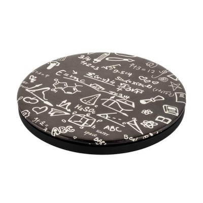 Беспроводное зарядное устройство I-Carer (5-9V-2A) PU Printed Pattern Leather Fast Wireless Charging (ISWXC) Math Formula