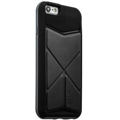Накладка-подставка iBacks Premium PC Case для iPhone 6s/ 6 (4.7) - Don Quixote Windmill (ip60046) Black/Gray
