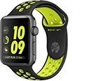 Apple Watch Series 2 Nike+ 42mm Space Gray Aluminum Case with Black/Volt Nike Sport Band (MP0A2)
