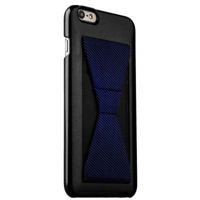 Накладка-подставка iBacks Bowknot Series PC Case для iPhone 6s Plus/ 6 Plus (5.5) (60333) Black/ Stripes