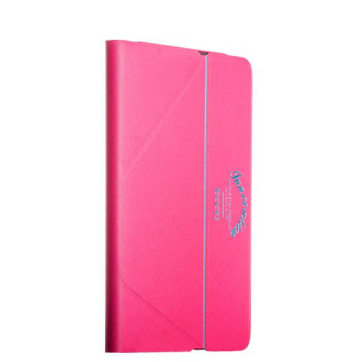 Чехол iBacks Inherent VV Structure Leather Case для iPad mini3/ mini 2/ mini (ip60136) Rose Red Розовый