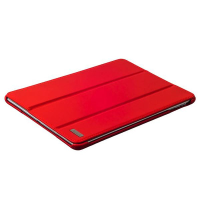 Чехол кожаный i-Carer Ultra-thin для iPad Air genuine leather series (RID501red) красный