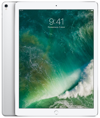 Apple iPad Pro 12.9 (2017) 256Gb Wi-Fi + Cellular Silver