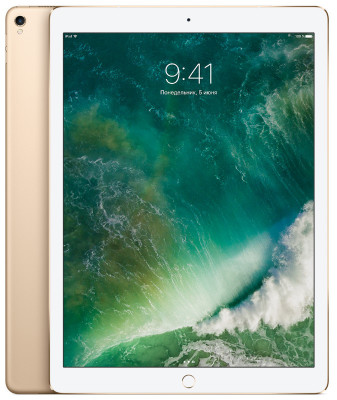 Apple iPad Pro 12.9 (2017) 256Gb Wi-Fi + Cellular Gold