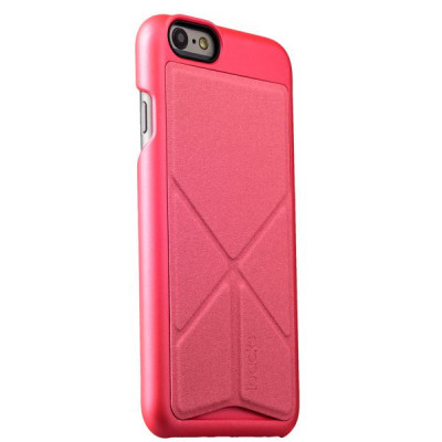 Накладка-подставка iBacks Premium PC Case для iPhone 6s/ 6 (4.7) - Don Quixote Windmill (Ultra-slim Edition) (ip60044) Pink