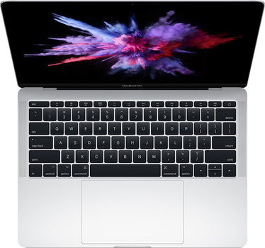 Apple MacBook Pro 13 MPXR2 Silver Retina display Mid 2017 (Core i5 2,3GHz/2560x1600/8Gb/128Gb SSD/Intel Iris Plus Graphics 640)