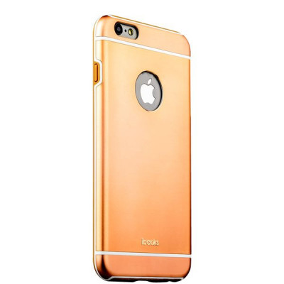 Накладка металлическая iBacks Ares Armour Aluminum Case для iPhone 6s/ 6 (4.7) - (ip60263) Champagne Gold