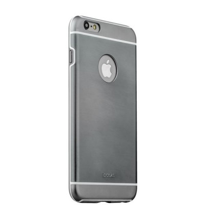Накладка металлическая iBacks Ares Armour Aluminum Case для iPhone 6s/ 6 (4.7) - (ip60265) Space Gray