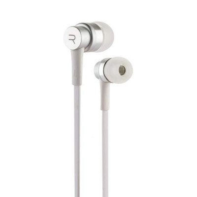 Наушники Remax RM-535 Electronic Earphone Silver Серебристые