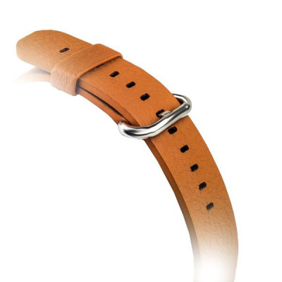Ремешок кожаный i-Carer Resemble original Apple Watchband для Apple Watch 38мм - (RIW105) Brown - Коричневый