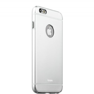 Накладка металлическая iBacks Ares Armour Aluminum Case для iPhone 6s Plus/ 6 Plus (5.5) (ip60283) Silver