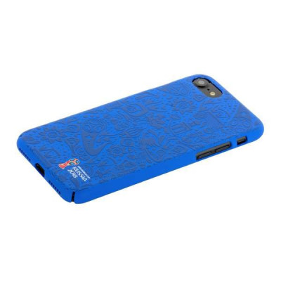"Чехол-накладка PC Deppa D-103896 ЧМ по футболу FIFA™ Official Pattern для iPhone 8/ 7 (4.7"") Синий"