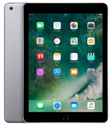 Apple iPad (2017) 32Gb 9.7 Wi-Fi Space Gray (Серый космос) MP2F2
