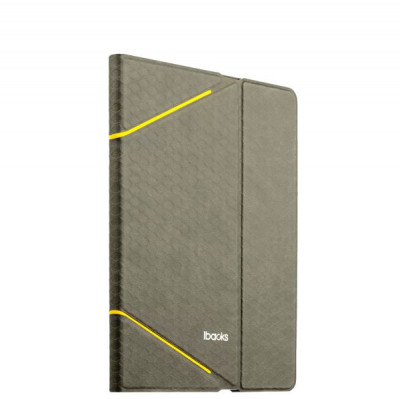 Чехол iBacks iFling VV Structure Leather Case for iPad Air2 - Fish-scale Series (ip60105) Gray Серый