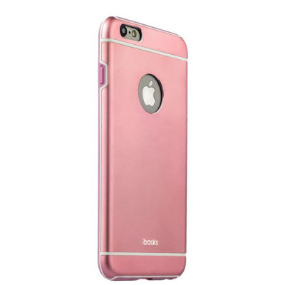 Накладка металлическая iBacks Ares Armour Aluminum Case для iPhone 6s Plus/ 6 Plus (5.5) (ip60085) Pink