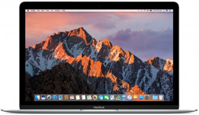 MacBook Mid 2017 MNYH2RU/A Silver(Intel Core m3 1200 MHz/12/2304x1440/8Gb/256Gb SSD/DVD нет/Intel HD Graphics 615/Wi-Fi/Bluetooth/MacOS X)