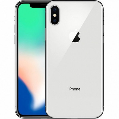 Apple iPhone X (10) 256Gb Silver  MQAG2RU/A