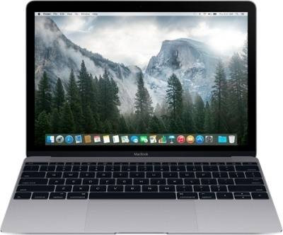 "Apple MacBook 12"" MLH72 (Retina display early 2016/Core M 1.1GHz/8GB/256GB/Intel HD Graphics 515/Space Gray)"