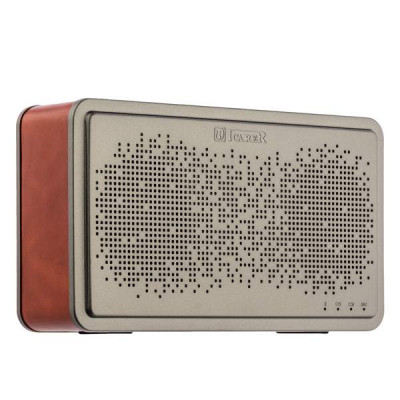 Портативная Bluetooth колонка I-Carer Wireless Speaker BS-221 Bass-Enhance 70db (IYX0001) Brown Коричневая