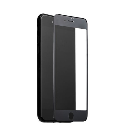 "Стекло защитное COTEetCI 3D Nano Full screen glass 0.15mm High penetration для iPhone 8/ 7 (4.7"") GS7107-BK-WH-4.7 Black"